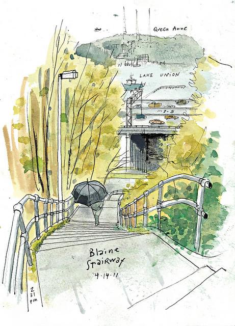 Blaine Stairway, Gabriel Campanario