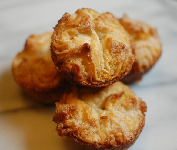 caramelized kouign amann