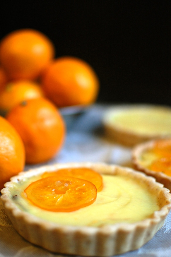 meyer lemon chocolate tartelettes