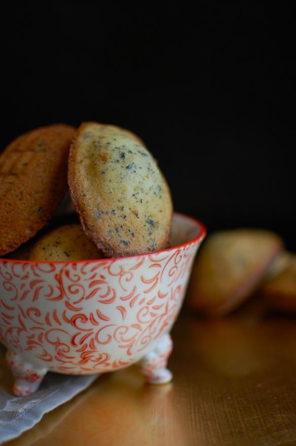 Earl grey madeleines