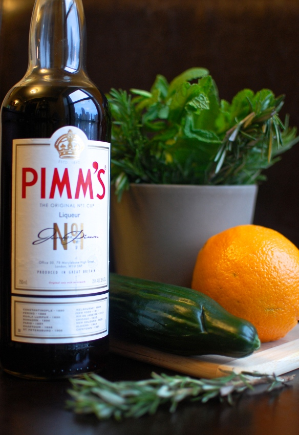 Ingredients Pimm's Cup