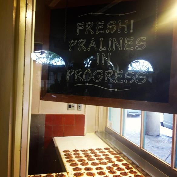 Fresh pralines